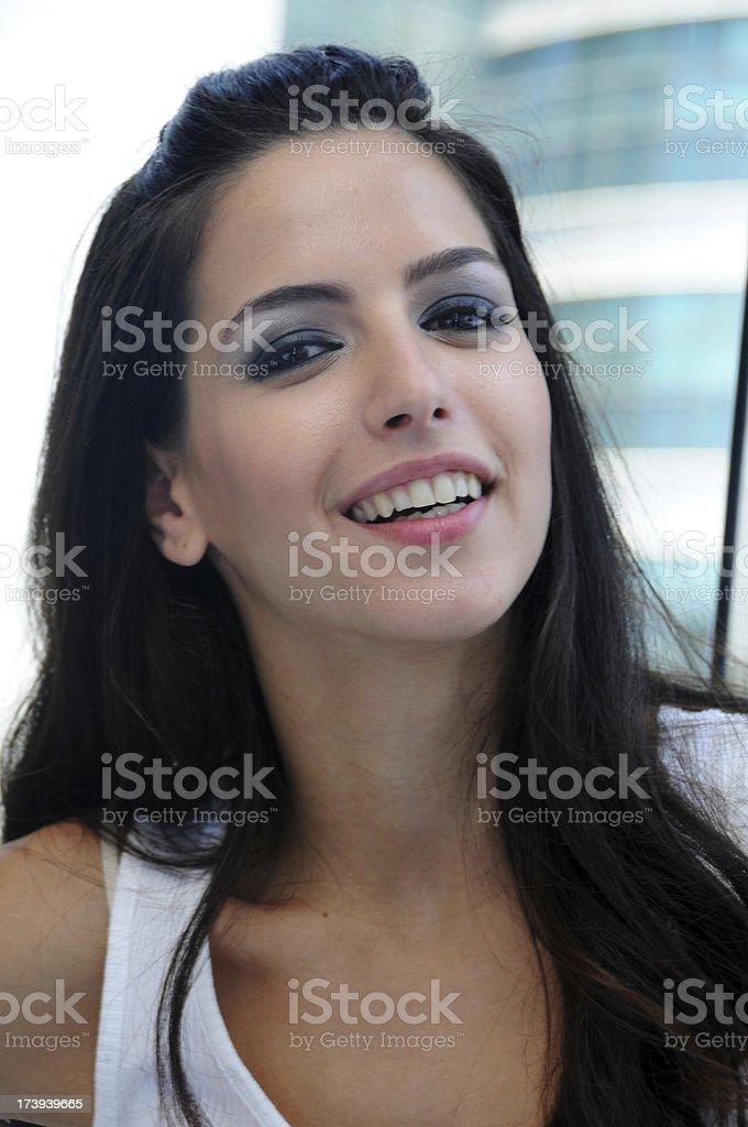 Friendly Smile stock photo
