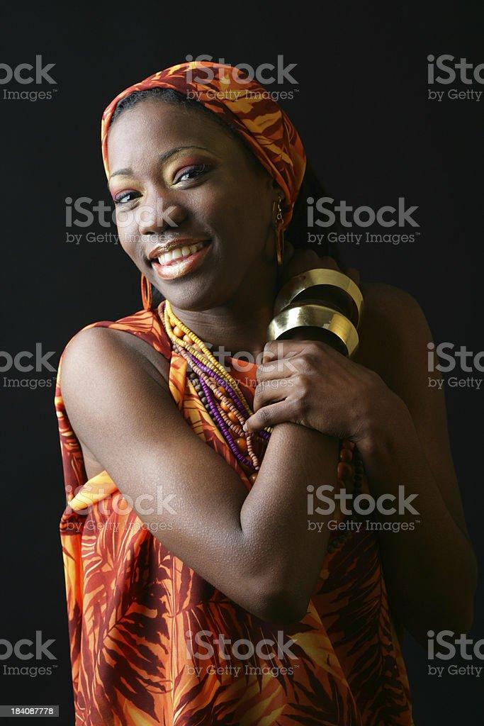 Friendly woman royalty-free stock photo