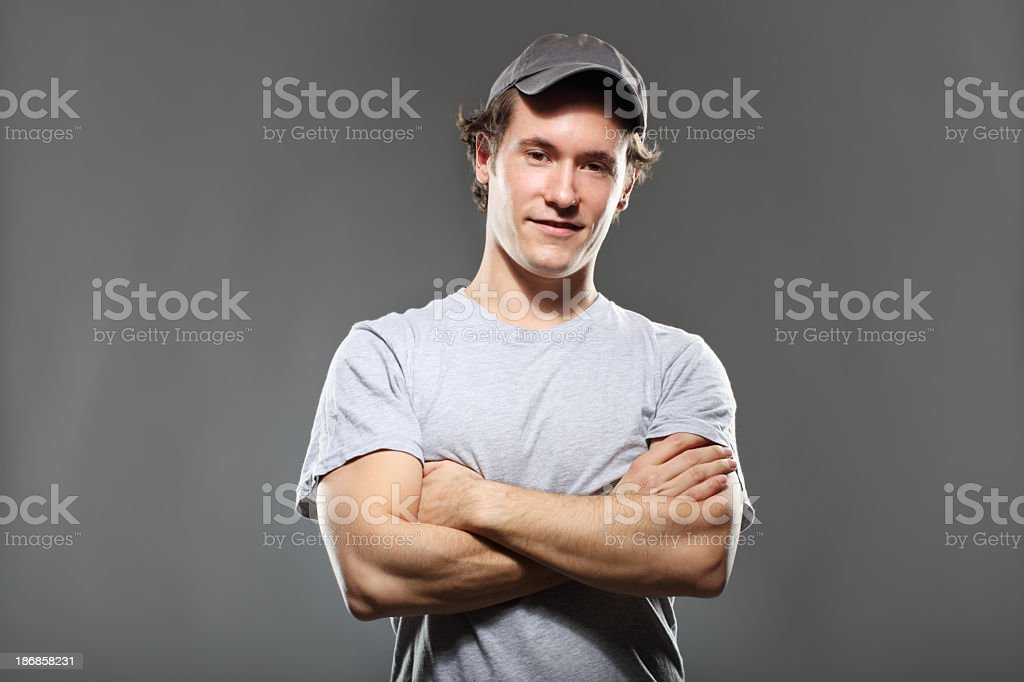 Friendly Young Man royalty-free stock photo