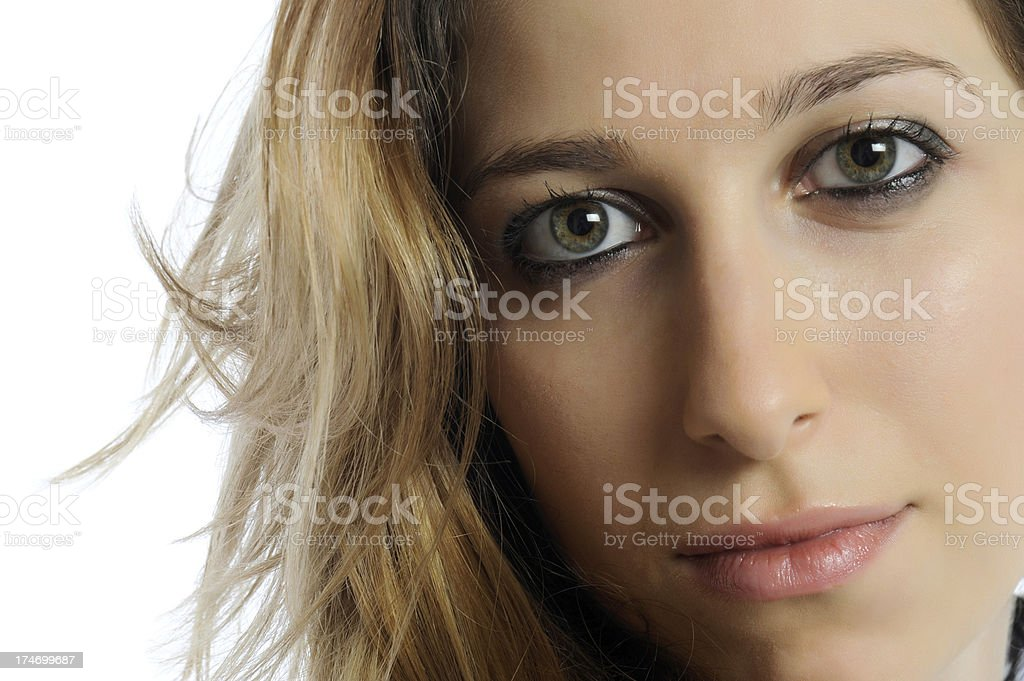Friendly young woman royalty-free stock photo