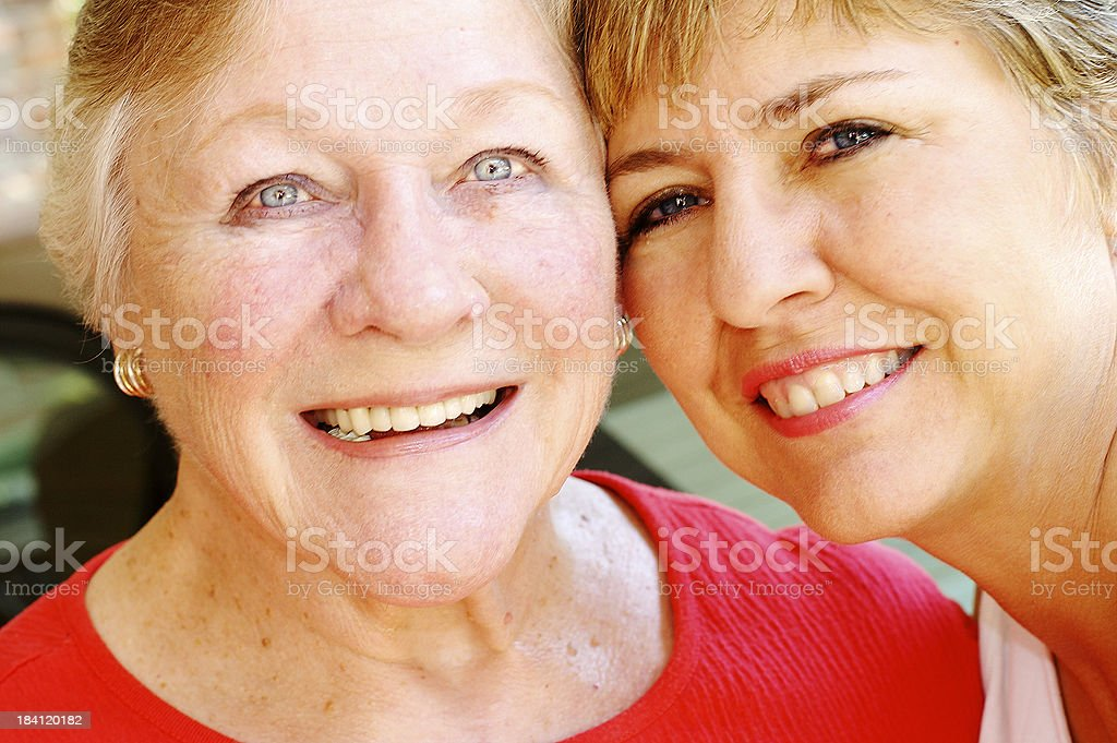 Friends and Family royalty-free stock photo