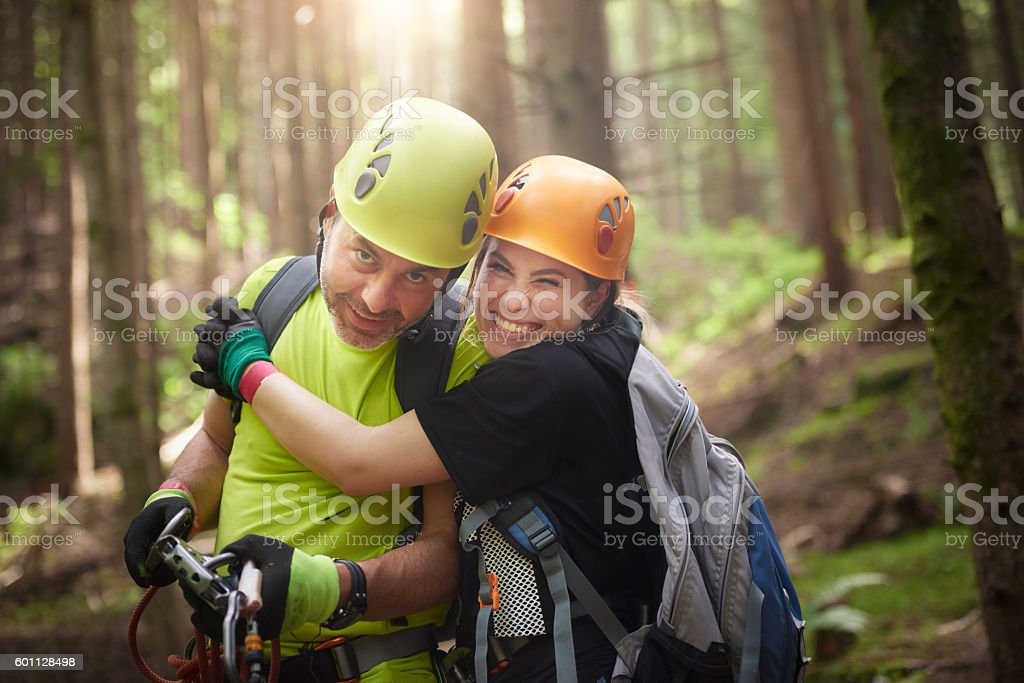 friends and fun time stock photo