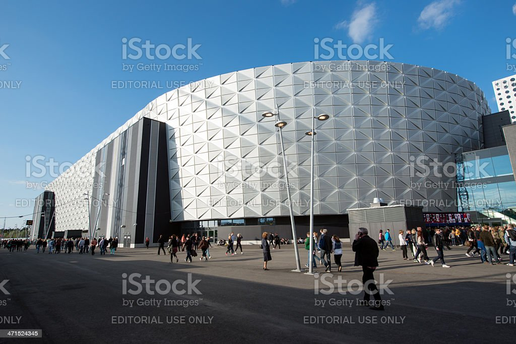 Friends Arena stock photo