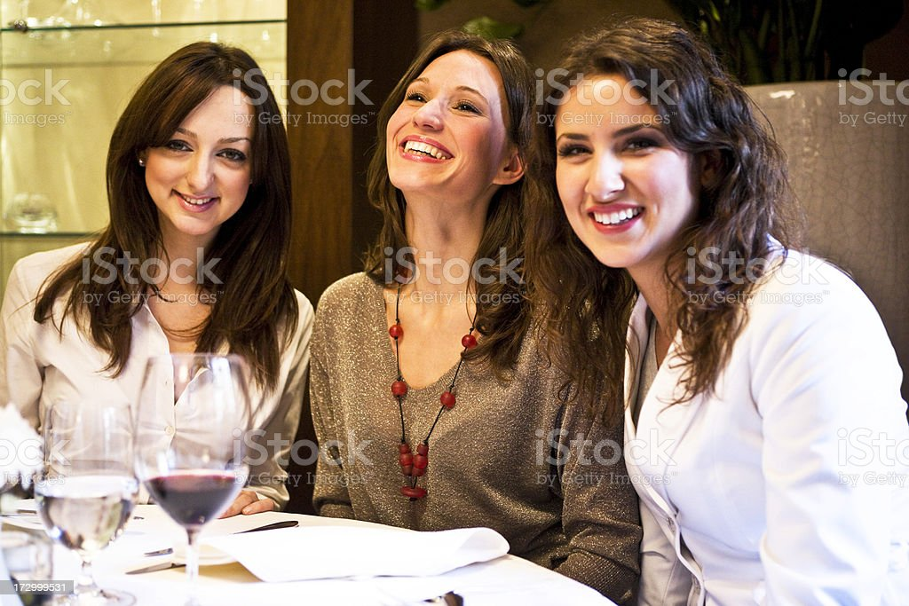 Friends hanging out royalty-free stock photo