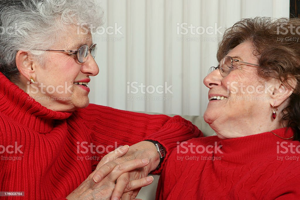 Friends Having a Laugh royalty-free stock photo