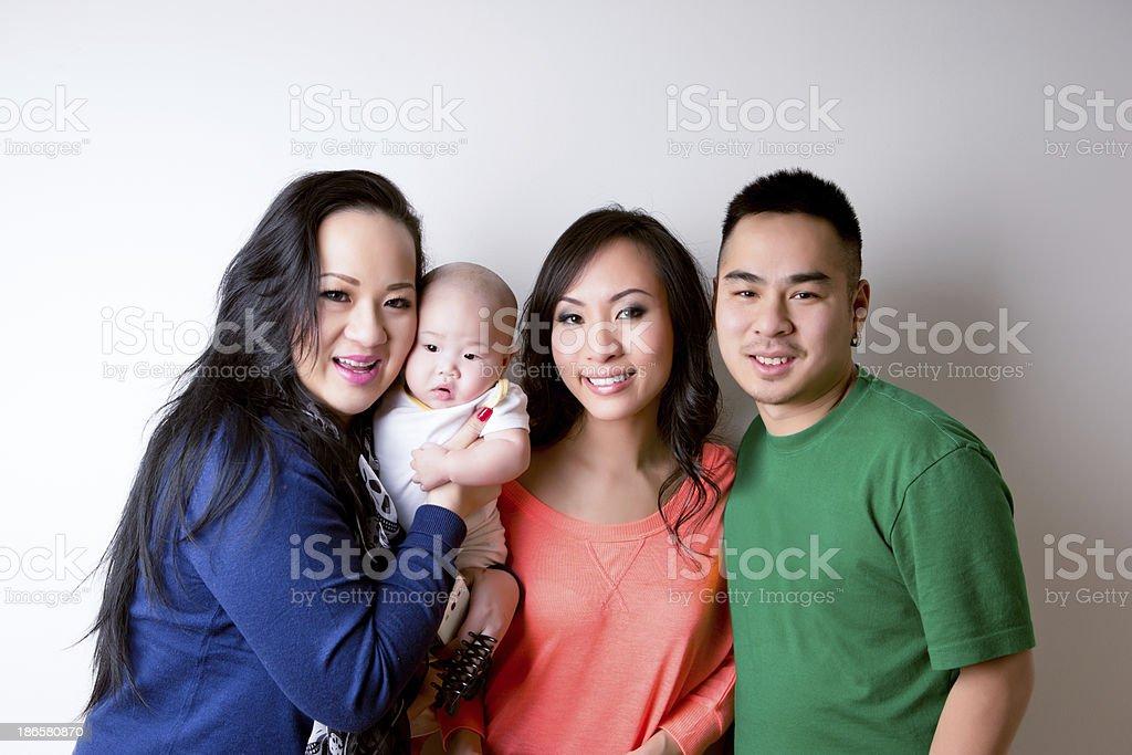 Friends portrait royalty-free stock photo