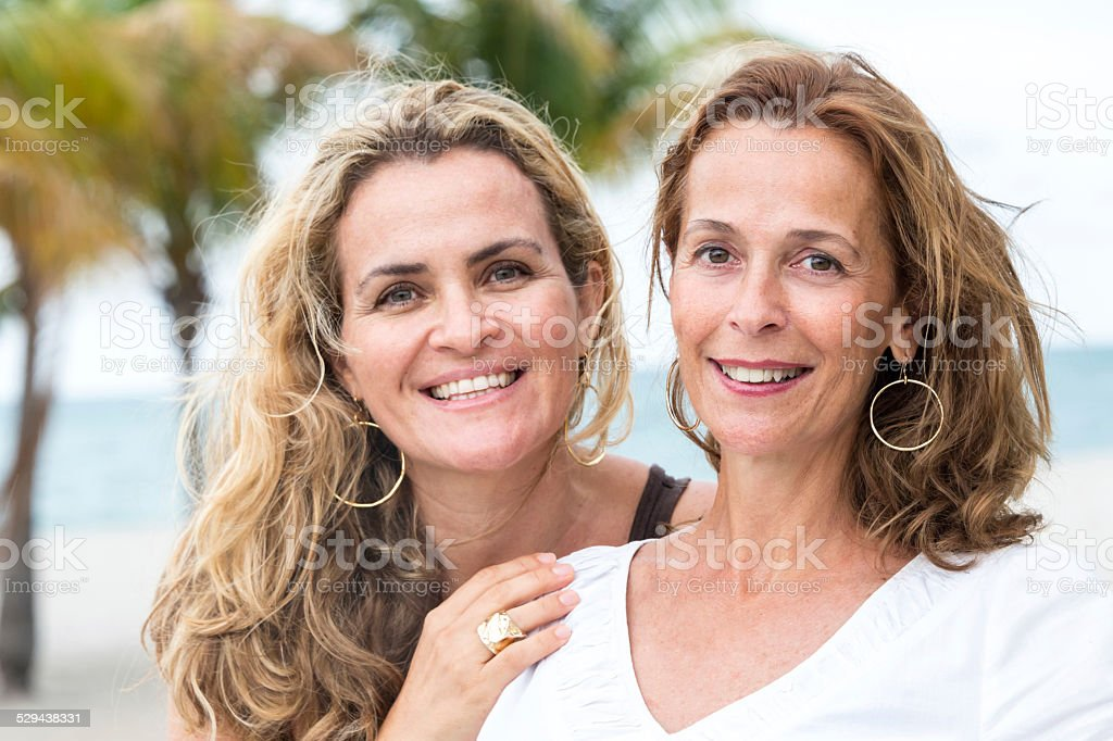Friends together stock photo