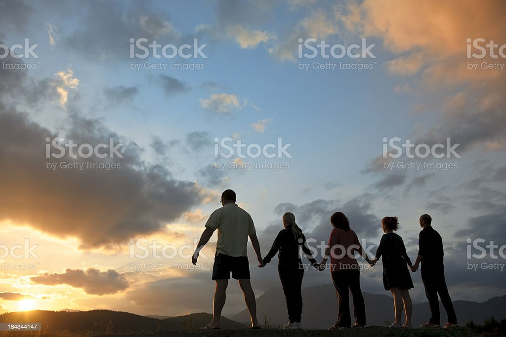 friendship and unity royalty-free stock photo