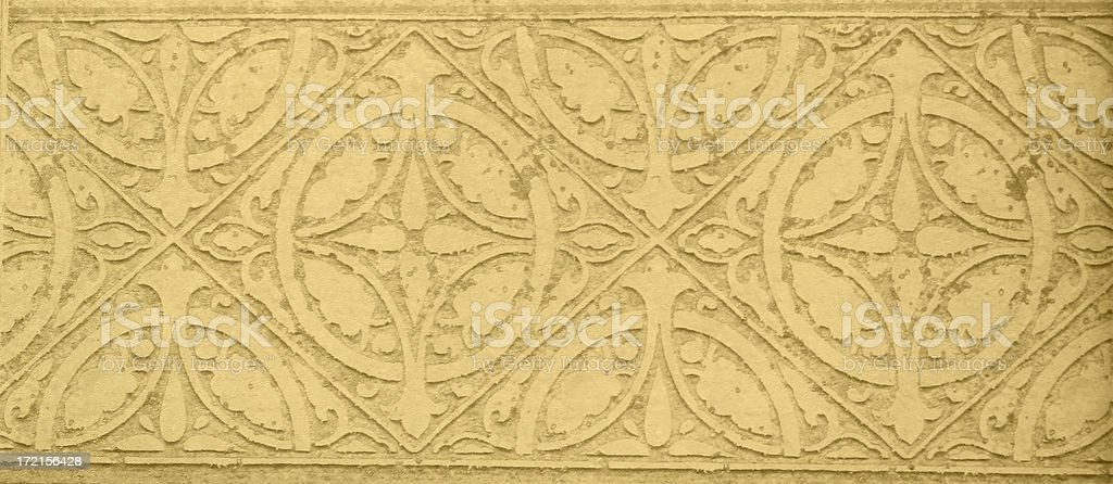 Frieze / Wallpaper 2 royalty-free stock photo