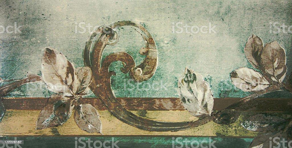 Frieze / Wallpaper stock photo