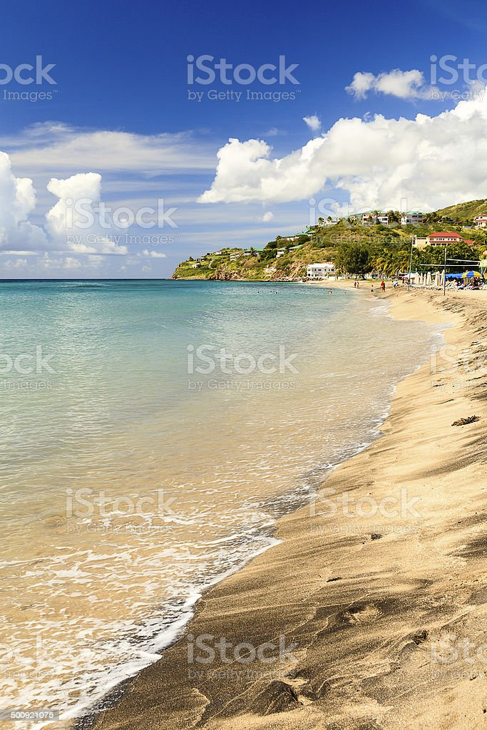 Frigate Bay royalty-free stock photo
