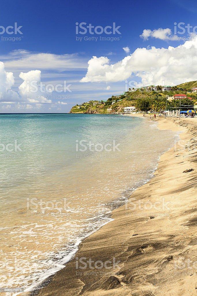 Frigate Bay stock photo