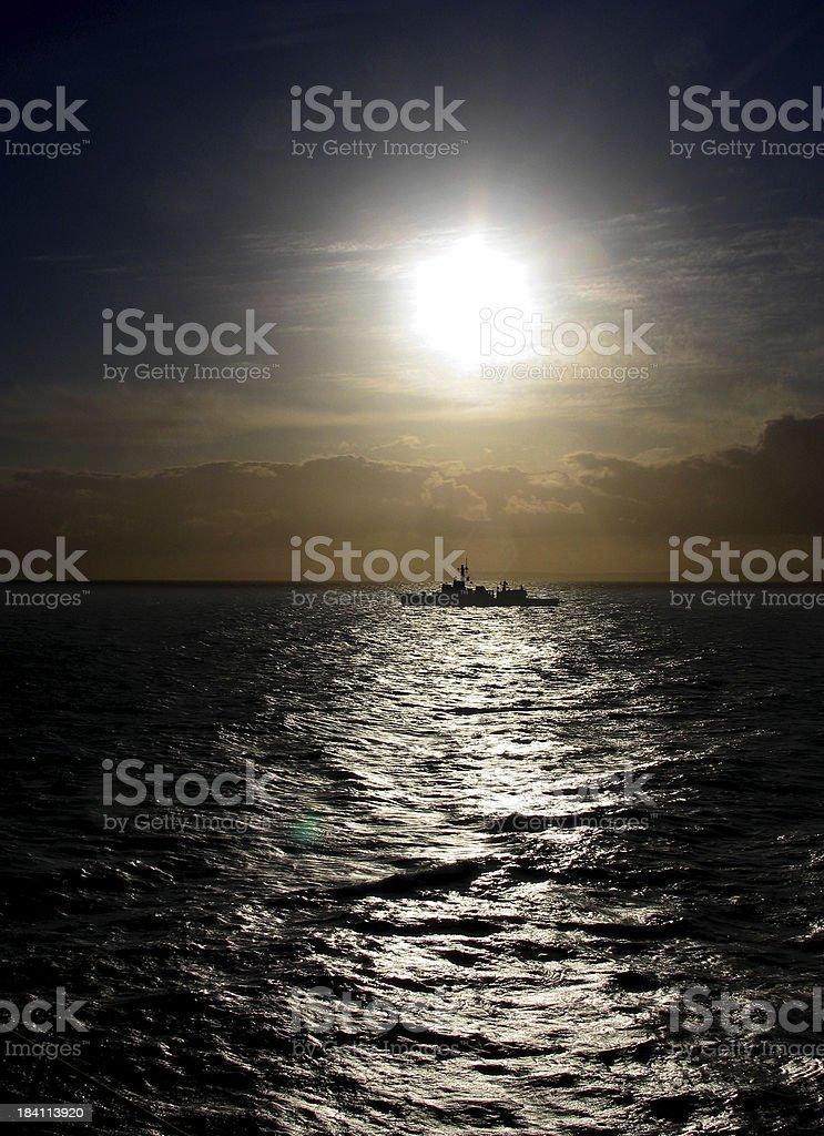 frigate royalty-free stock photo