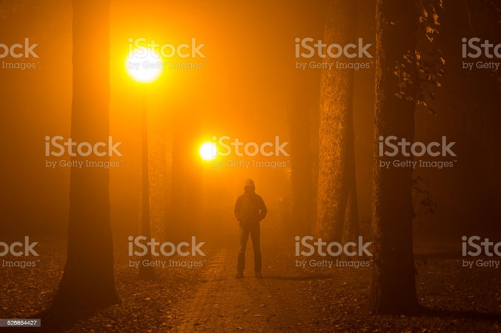 Fright night stock photo