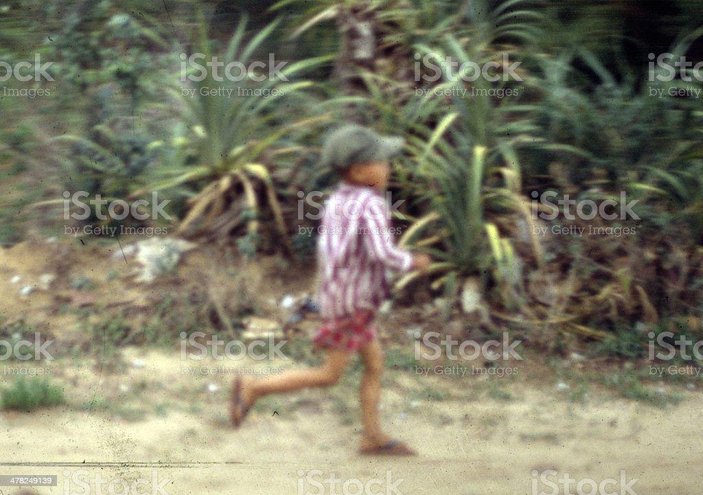 Frightened Boy royalty-free stock photo