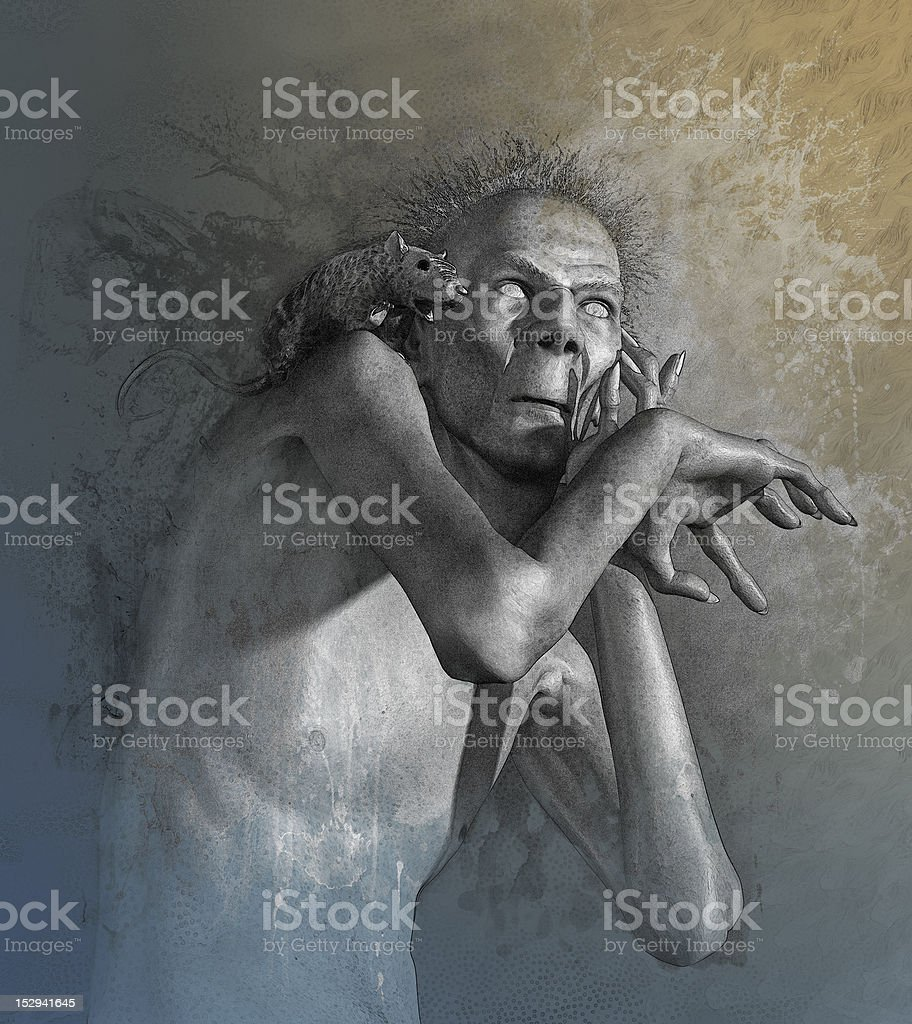Frightened Mutants 2 - RESUBMIT royalty-free stock photo