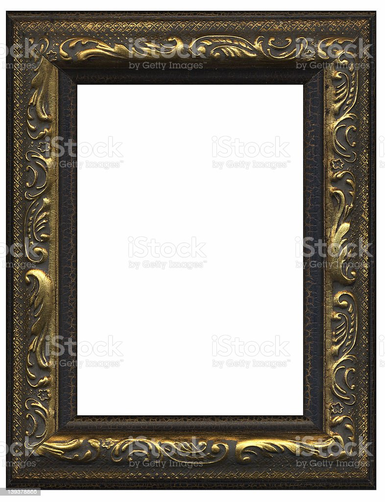 Frilly Frame royalty-free stock photo