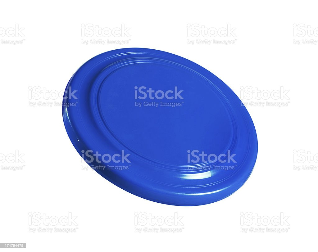 Frisbee +Clipping Path (Click for more) stock photo