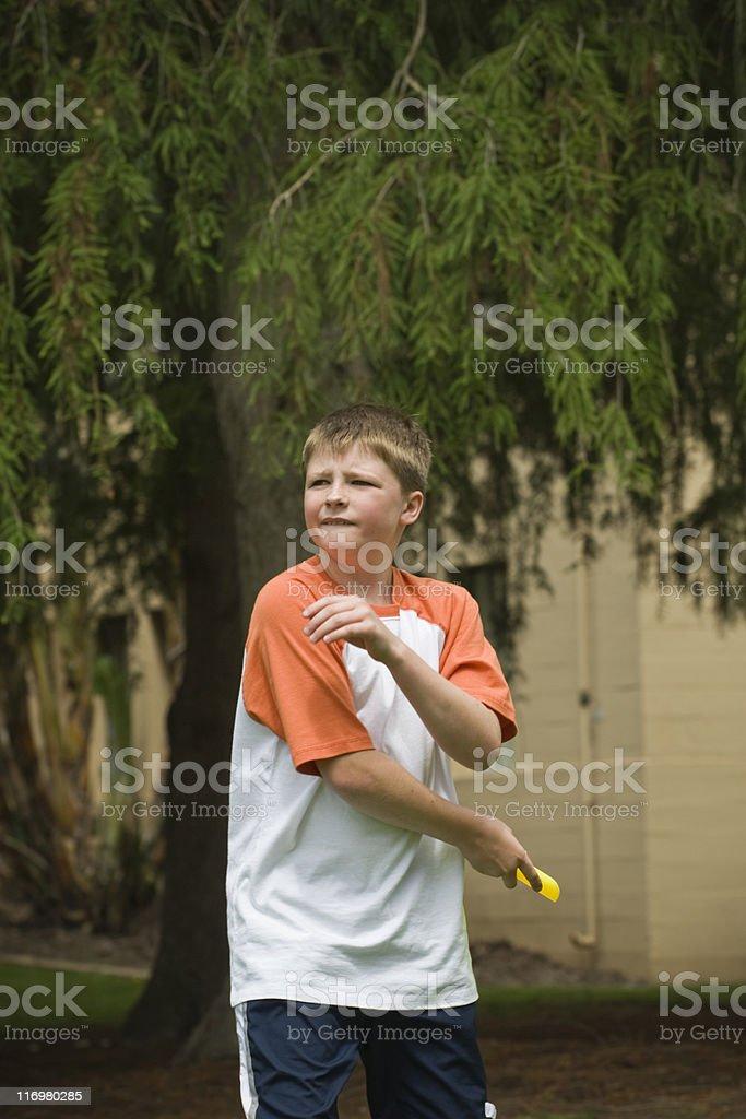 Frisbee stock photo