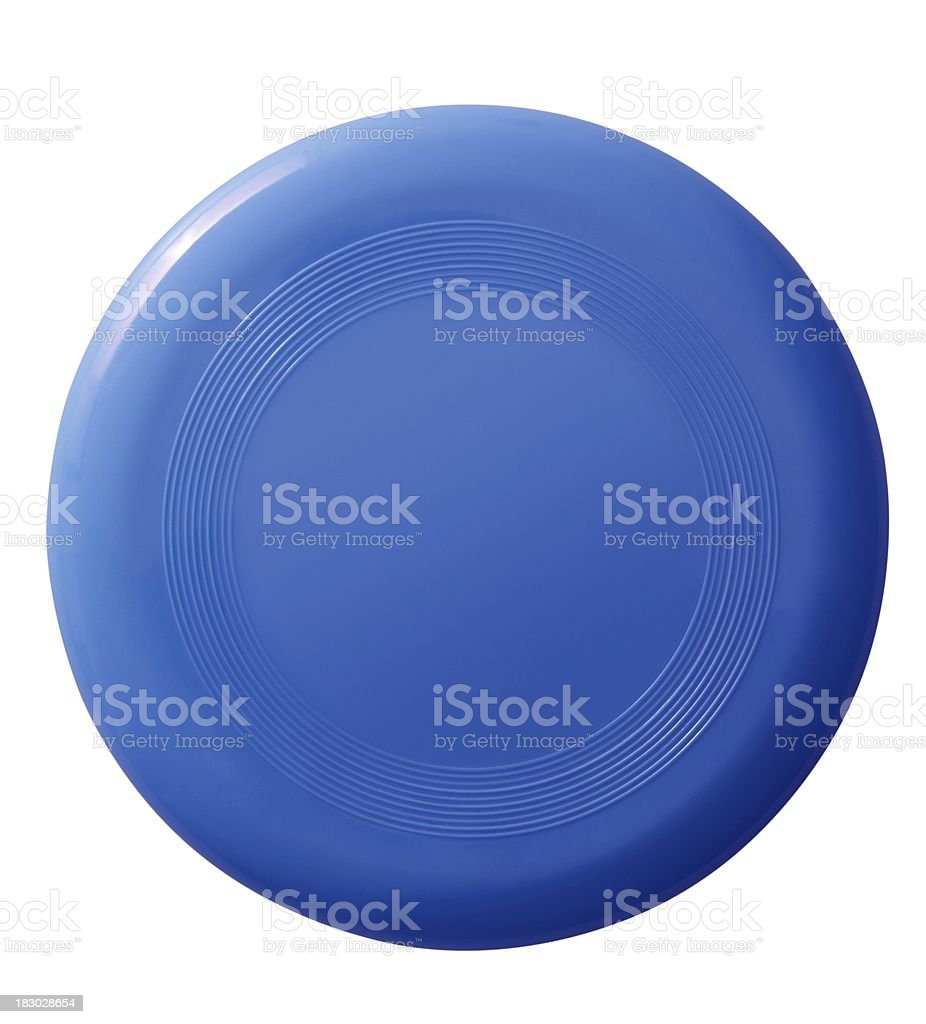 Frisbee (isolated with clipping path over white background) stock photo