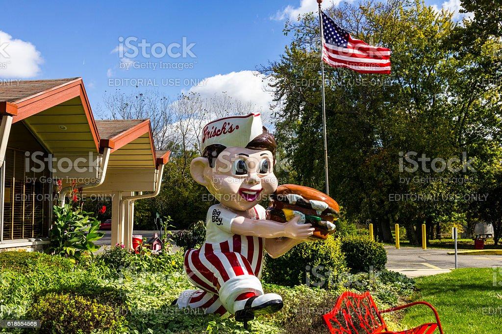 Frisch\'s Big Boy restaurant, home of the Big Boy Hamburger II