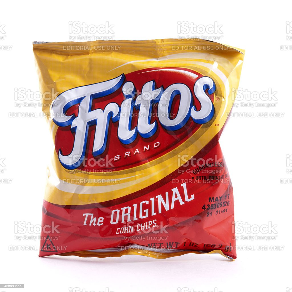 Fritos Brand Corn Chips stock photo