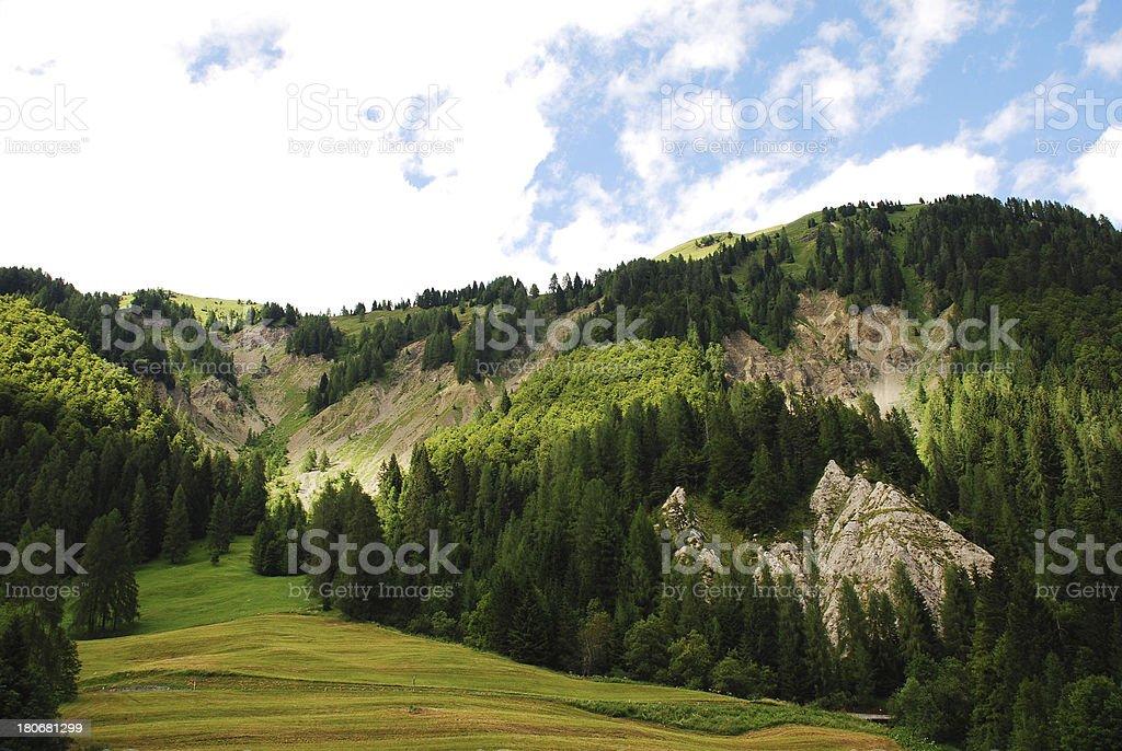 Friulian Dolomites stock photo