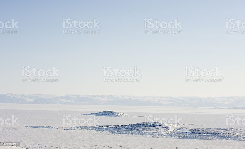Frobisher Bay, Baffin Island. royalty-free stock photo