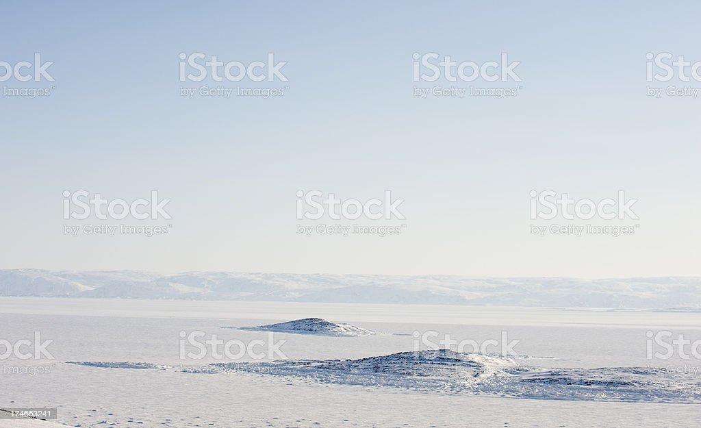 Frobisher Bay, Baffin Island. stock photo