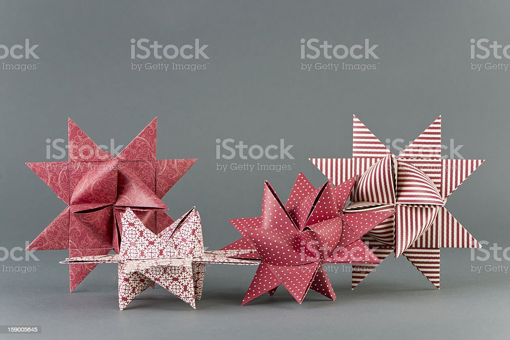 Froebel Stars royalty-free stock photo