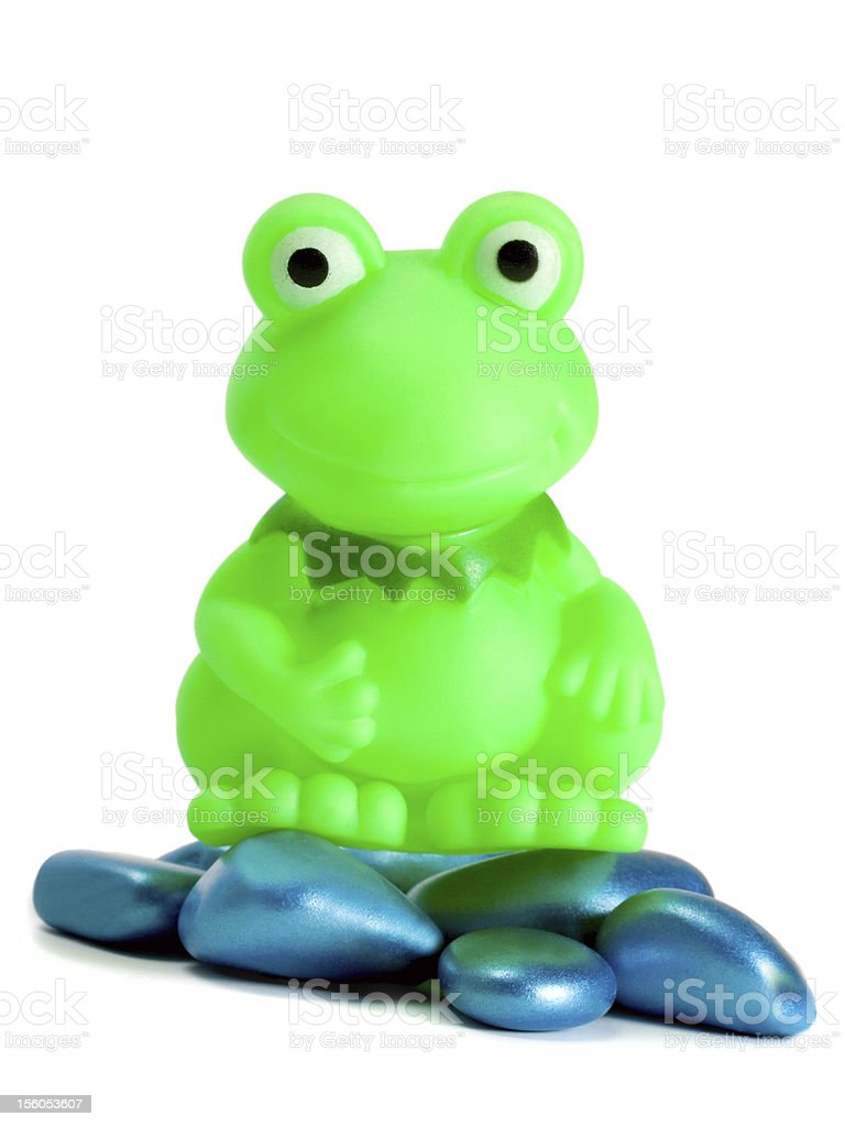 frog toy royalty-free stock photo