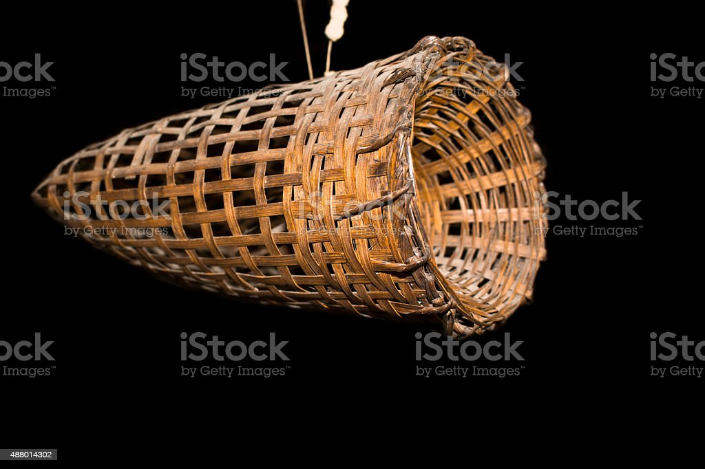 Frog trap stock photo