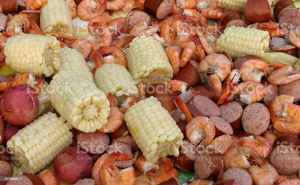 Frogmore Stew 1 royalty-free stock photo