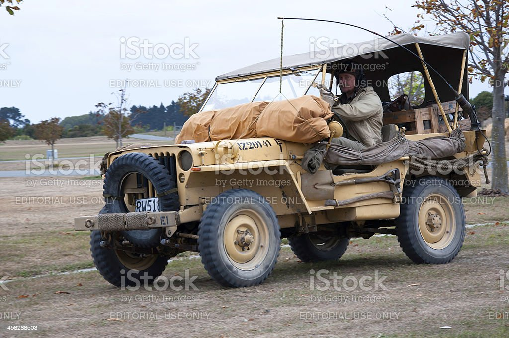 WILLYS JEEP from 1942 stock photo