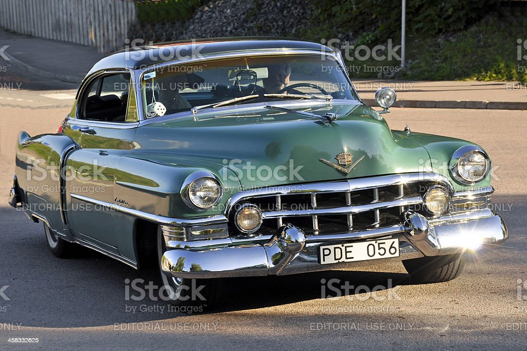 CADILLAC COUPE DE VILLE from 1952 stock photo