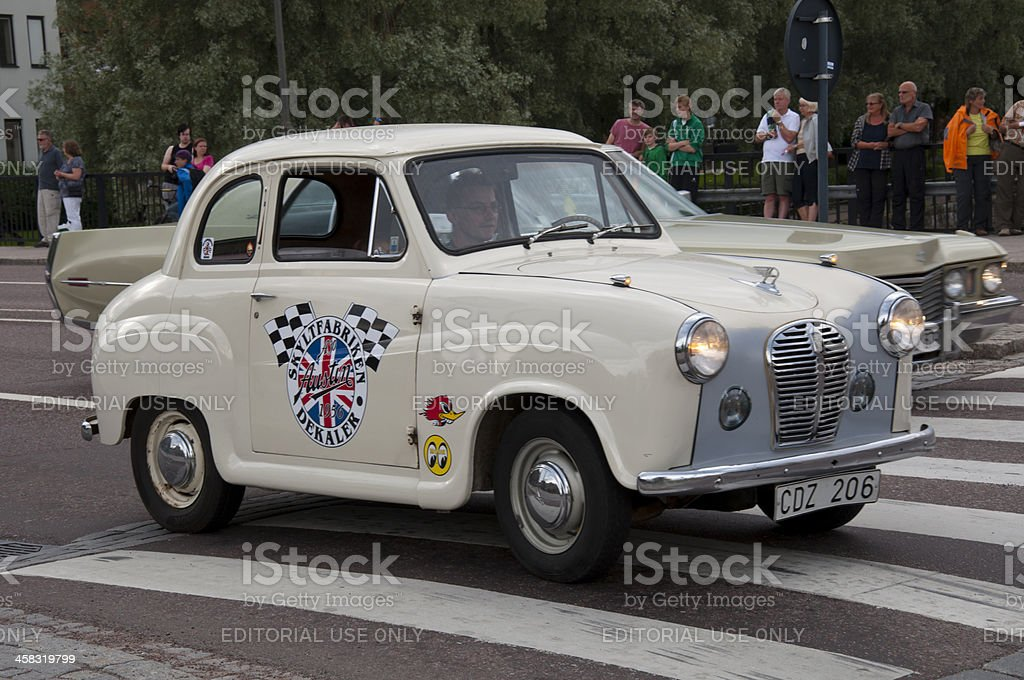 AUSTIN A30 from 1956 royalty-free stock photo