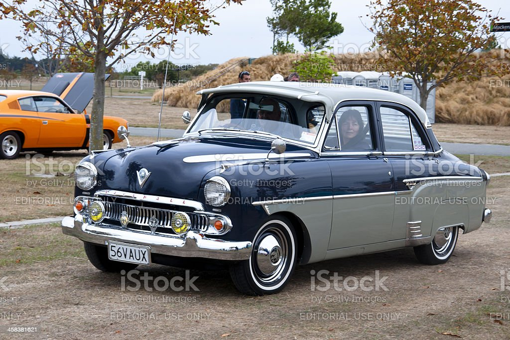 VAUXHALL CRESTA from 1956 royalty-free stock photo