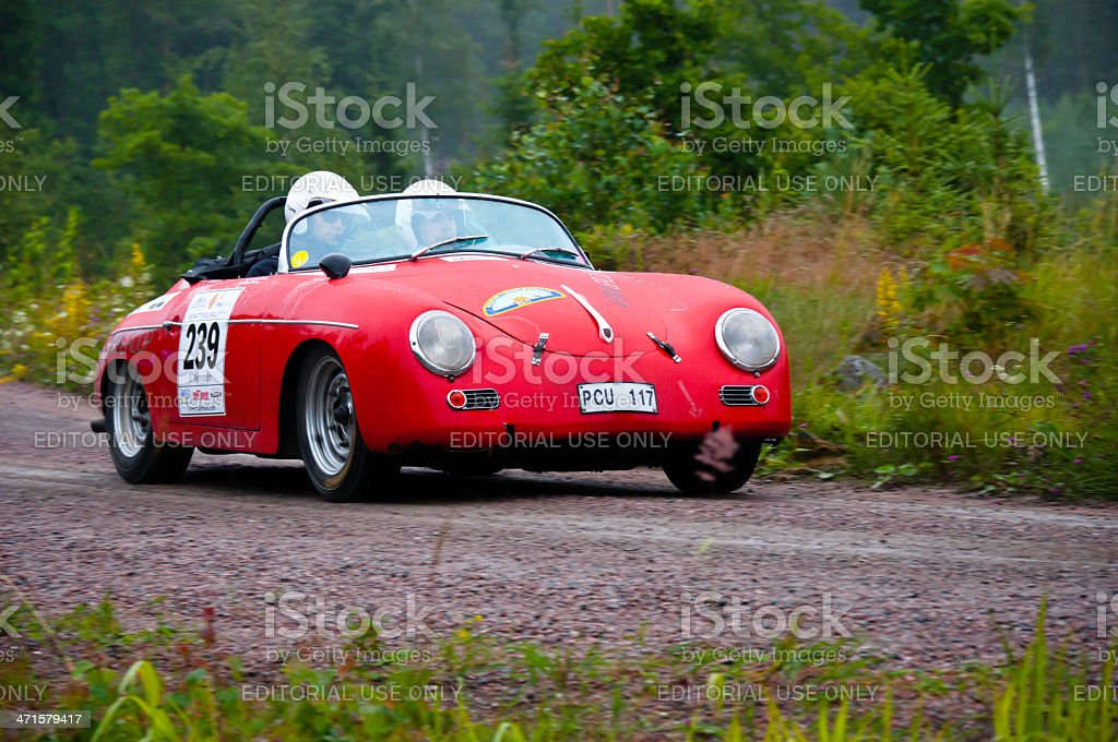 PORSCHE SPEEDSTER 356A from 1956 royalty-free stock photo