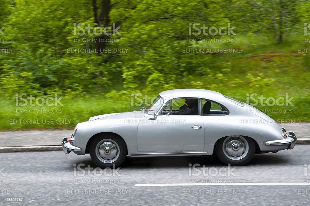 PORSCHE 356 1600 SUPER H from 1960 stock photo