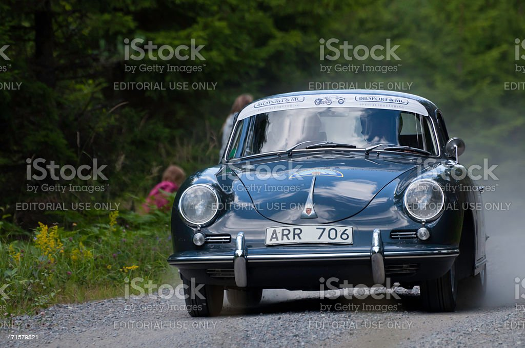 PORSCHE HARDTOP TYP 356 from 1962 royalty-free stock photo
