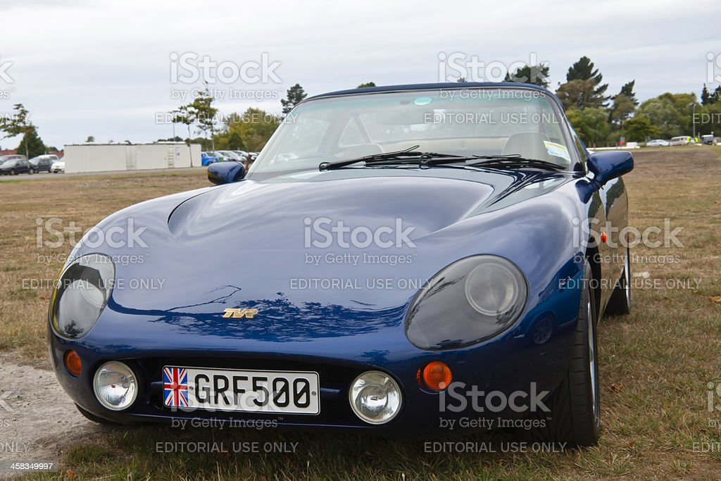 TVR GRIFFITH 500 from 2001 royalty-free stock photo