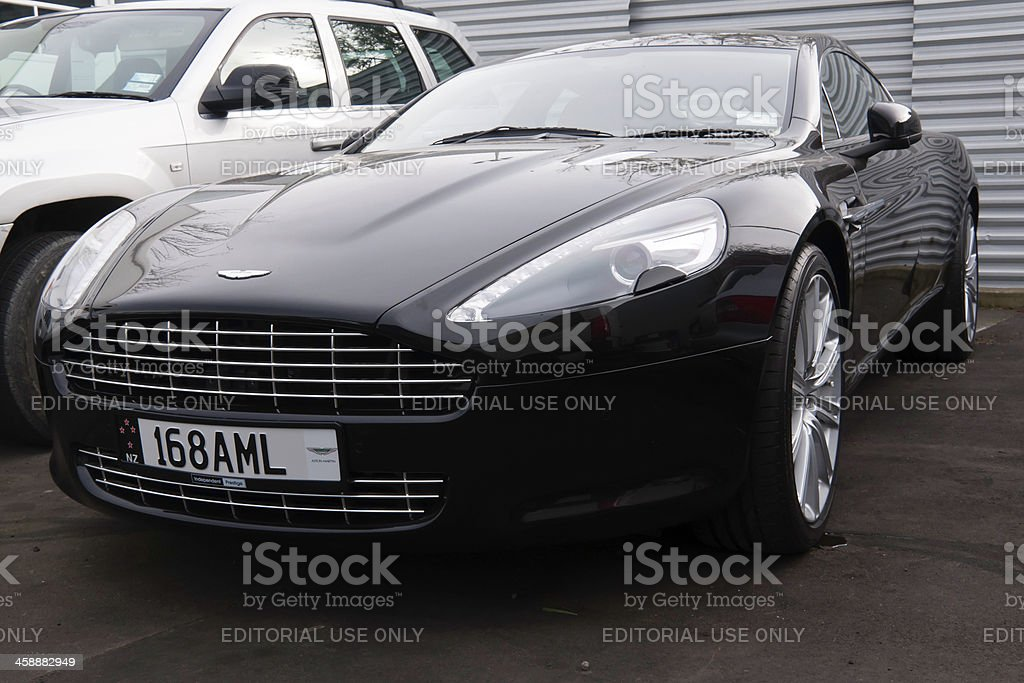 ASTON MARTIN RAPIDE from 2010 stock photo