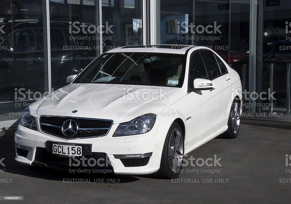 MERCEDES-BENZ C 63 AMG  from 2011 stock photo