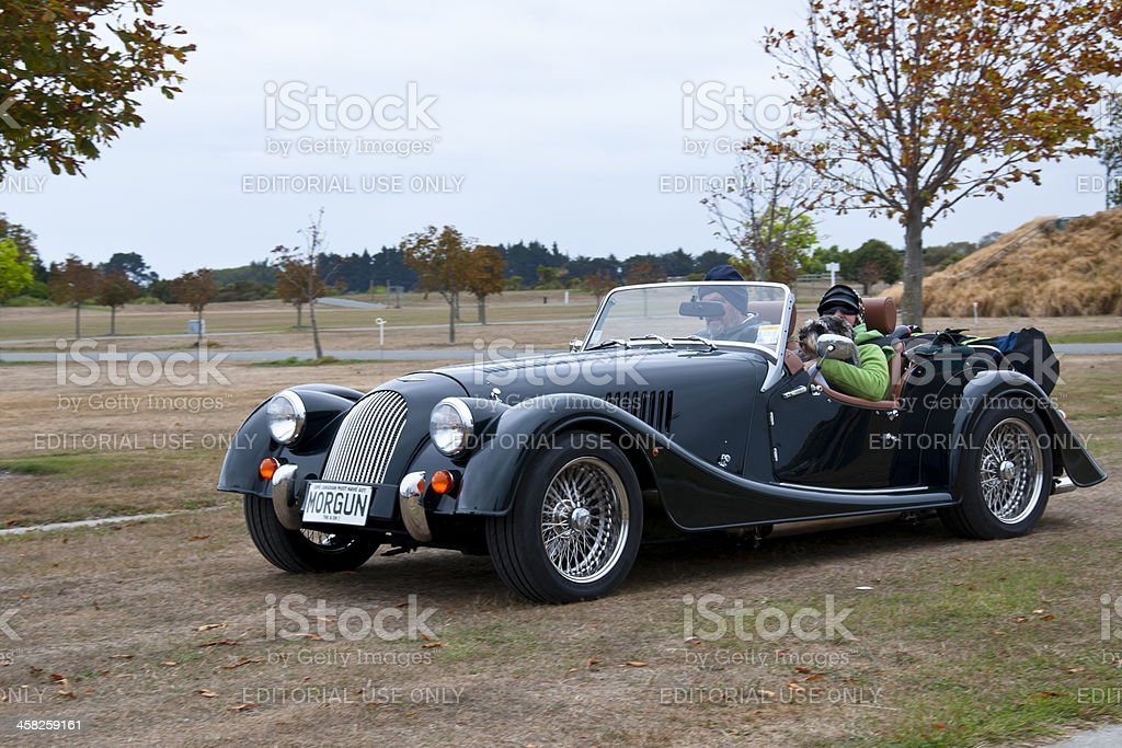 MORGAN ROADSTER from 2012 royalty-free stock photo