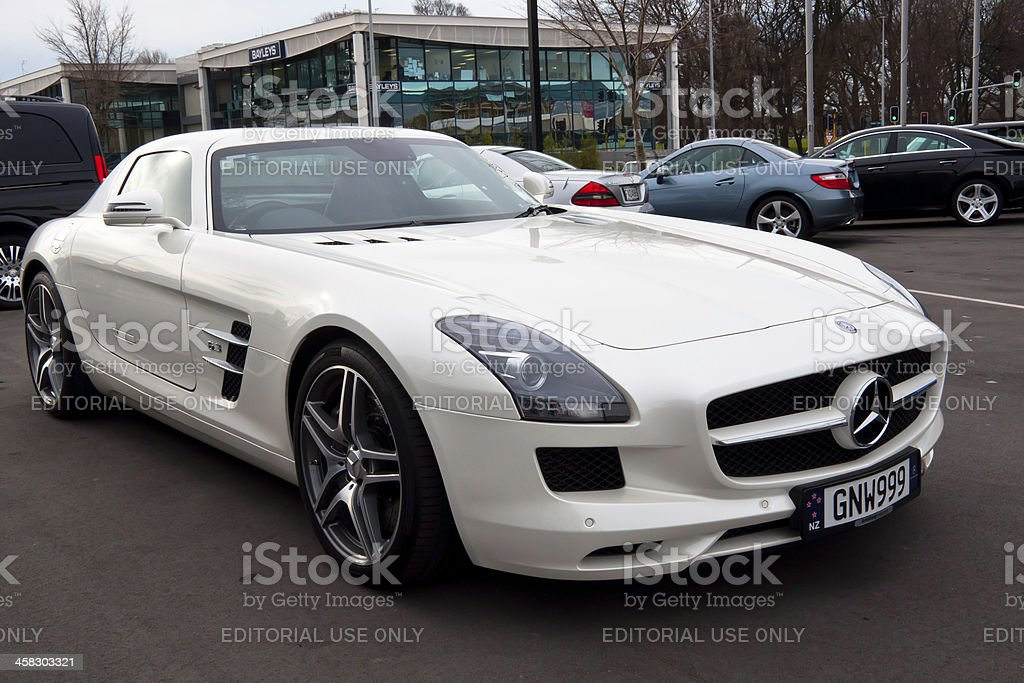 MERCEDES-BENZ SLS AMG from  2012 stock photo