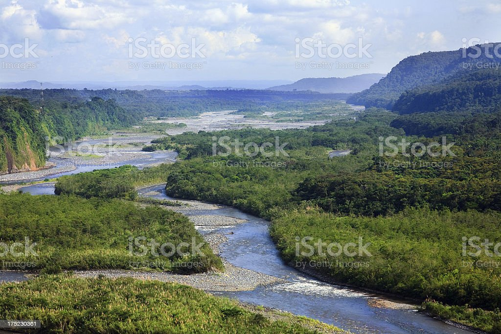 From Andes to Amazonia stock photo