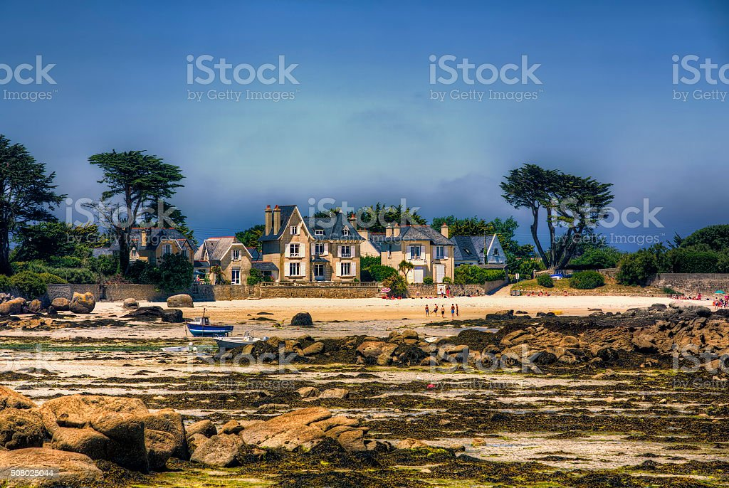 From Brignogan-Plages, Brittany stock photo