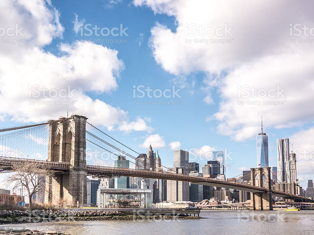 From Brooklyn to Manhattan stock photo