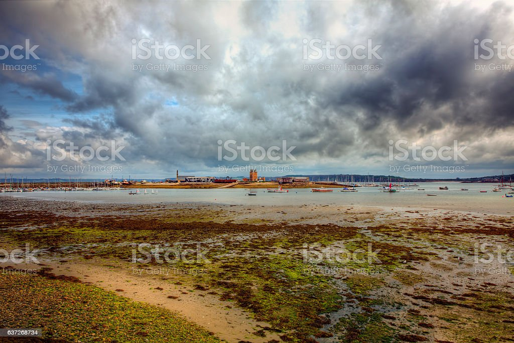 From Camaret-sur-Mer, Brittany stock photo