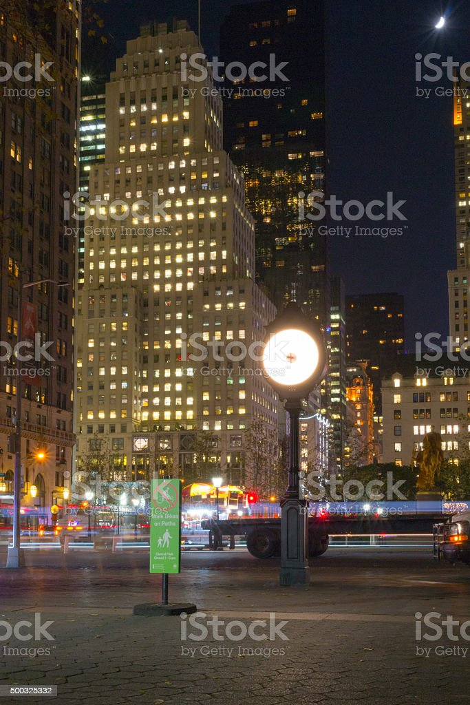 From Central Park to fifth avenue stock photo